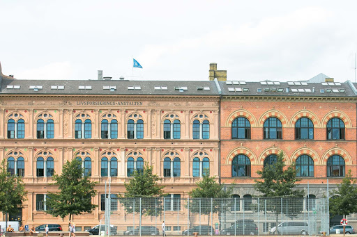 An example of the architectural stylings in downtown Copenhagen.