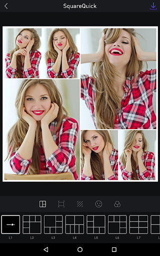 Square Quick Pro - Photo Editor, No Crop, Collage 6.1.3 Screenshots 8