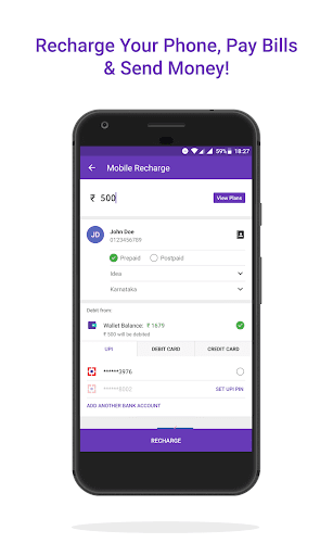 PhonePe – UPI Payments, Recharges & Money Transfer app (apk) free download for Android/PC/Windows screenshot