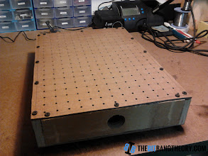 Photo: Complete vacuum molding box