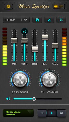 equalizer - music bass booster screenshot 1