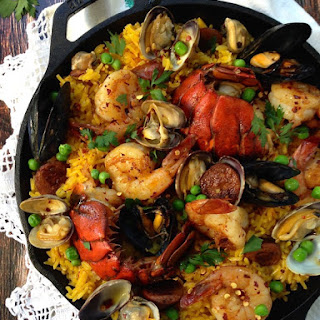 Spanish Healthy Paella.