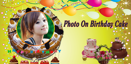 Name Photo on Birthday Cake – Love Frames Editor - Apps on