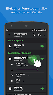 SoundSeeder Music Player - Teile deine Musik! Screenshot