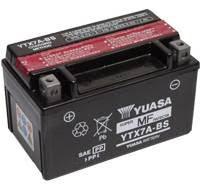 YUASA MC batteri YTX7A-BS LxBxH: 150x87x94mm
