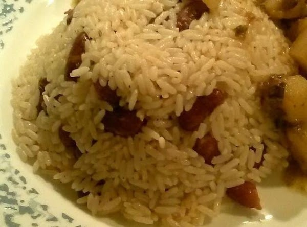 Jamaican Red beans and rice...mmmm
