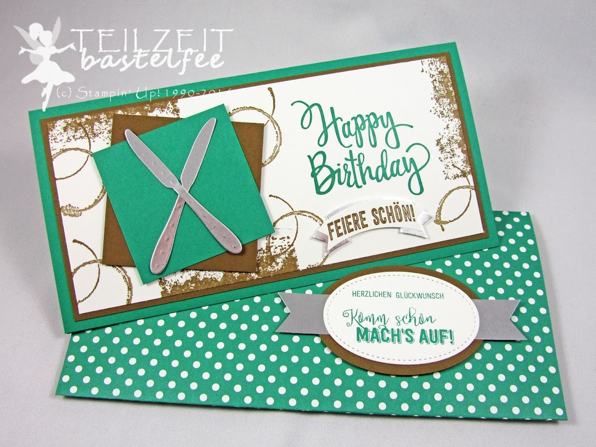 Stampin' Up! – Birthday, Geburtstag, Male Card, Männerkarte, Ballonparty, Stylized Birthday, Timeless Textures, Balloon Adventures