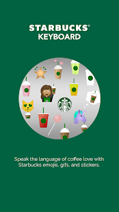 Starbucks Keyboard- screenshot thumbnail