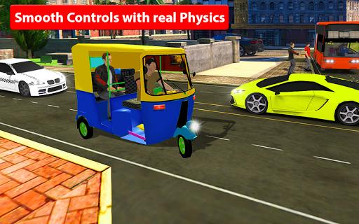 Rickshaw Driving Simulator - Drive New Games apktreat screenshots 2