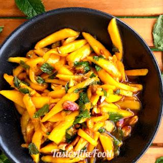 Japanese Mango Teriyaki Salad