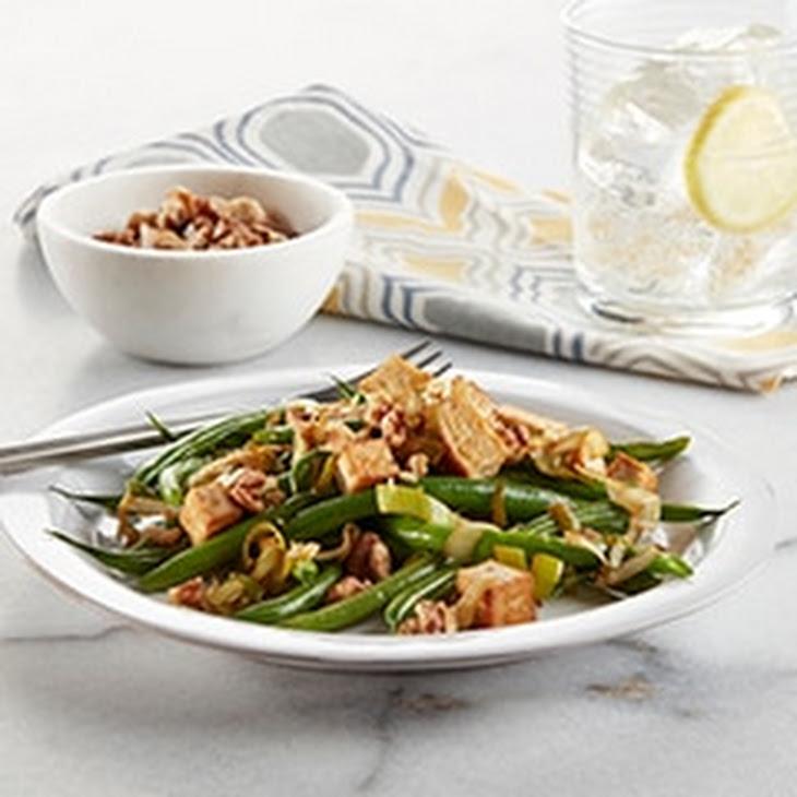 Green Bean & Tofu Saute Recipe