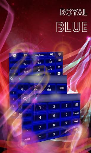 玩生活App|ロイヤルブルーのキーボード免費|APP試玩