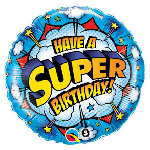 Folieballong, Super Birthday