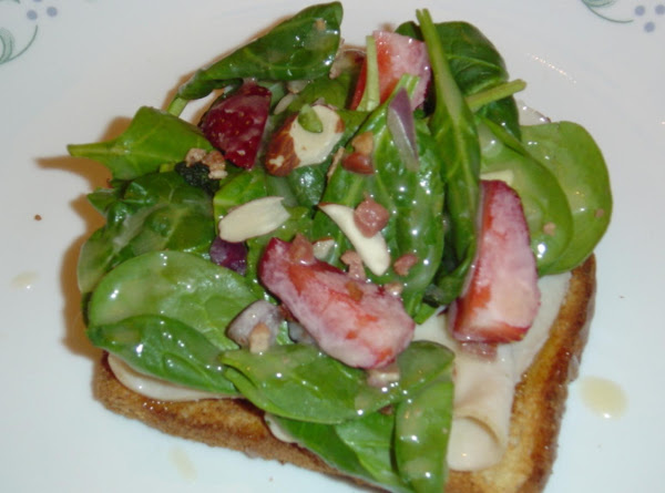 Strawberry Spinach Salad W/creamy Vinegar Dressing Recipe