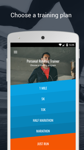 PERSONAL RUNNING TRAINER- screenshot