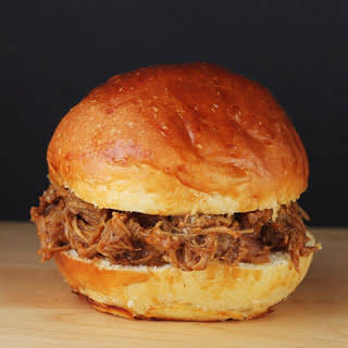 Crock Pot BBQ Pork Sandwich.