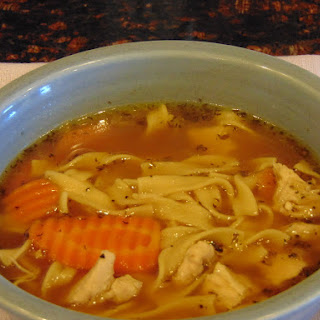 Kidney Diet Friendly Chicken Noodle Soup