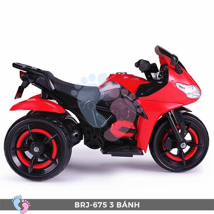 Xe moto điện trẻ em BRJ-675 3 bánh 14