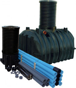 Pipelife Infiltrationspaket komplett med slamavskiljare