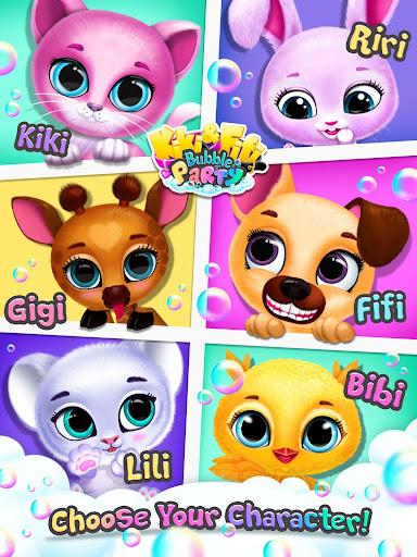 Kiki & Fifi Bubble Party - Fun with Virtual Pets  screenshots 14