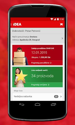 IDEA mobilna aplikacija
