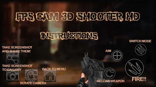 FPS Cam 3D Shooter HD