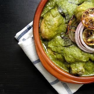 Green Chicken, a la Bohri style