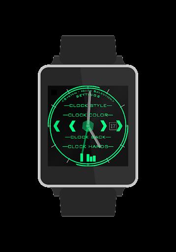Techlassick Watchface