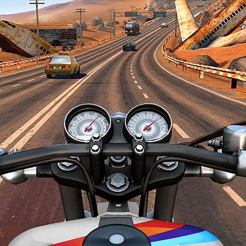 Moto Rider GO: Highway Traffic  (Free Shopping) 1.28.4 mod
