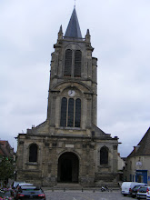 Photo: The Eglise de St Pierre et St Paul was founded in the 11th century, but most of the structure here is from the 15th.
