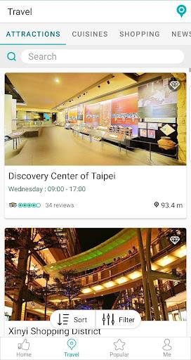 Travel Taipei screenshot 5