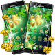Download Green Gold Lucky Clover Theme For PC Windows and Mac