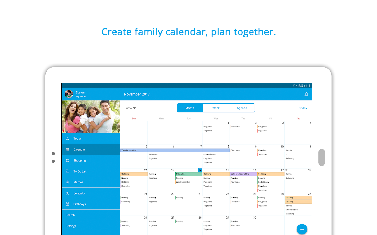 Family Shared Calendar FamCal Android Apps on Google Play – Family Agenda