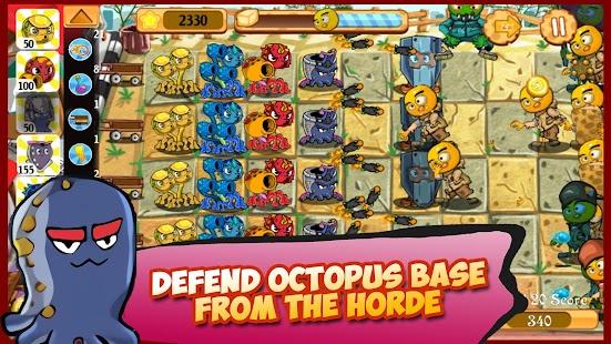 Octopus Clan War: Tofu Monster Invasion screenshot