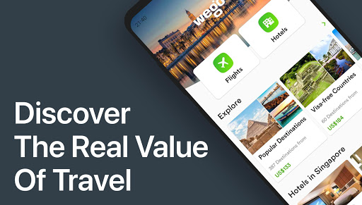 Wego Flights, Hotels, Travel Deals Booking App 6.0.7 Screenshots 1
