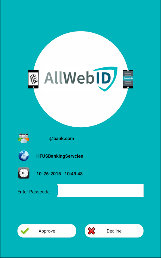 AllWebID Identity Manager- screenshot