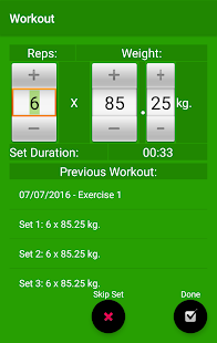 Max Fitness Workout Assistant- screenshot thumbnail