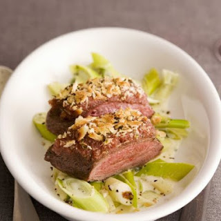 Fillet of Duck with Leeks and Nutmeg