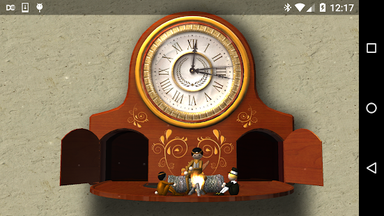 Thanksgiving Animated Clock 3D- screenshot thumbnail