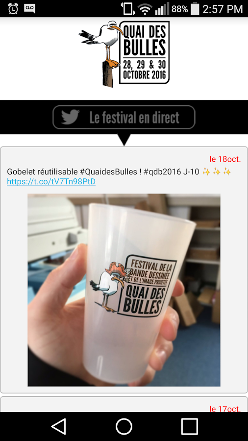 Quai des Bulles 2016- screenshot