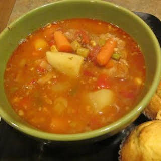 Vegetable Soup For A Crowd Recipes.