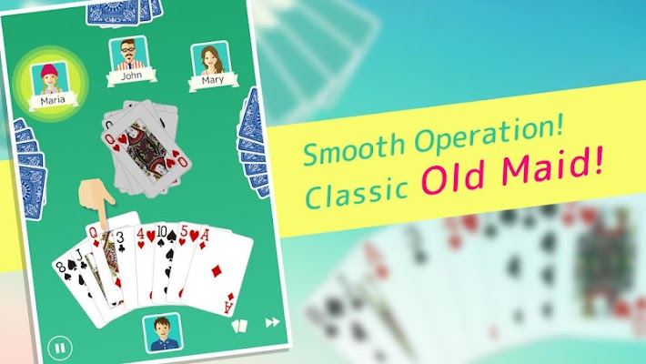 Old Maid - Free Card Game - screenshot