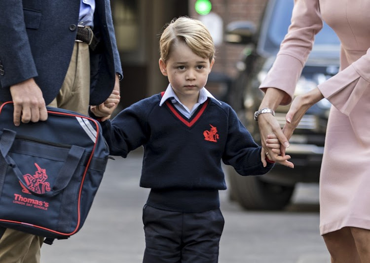 Britain's Prince George. File photo.