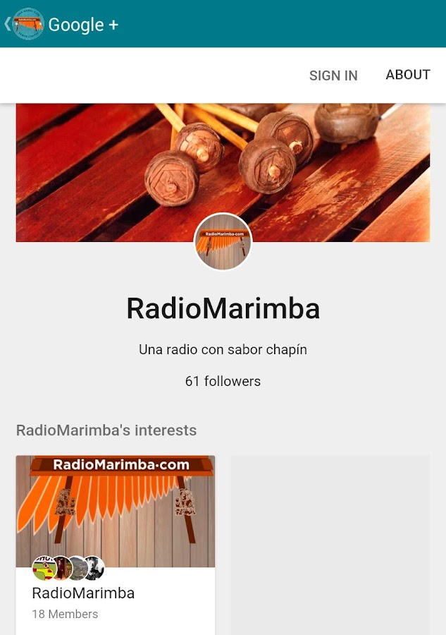 Radio Marimba HD- screenshot