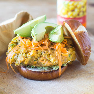 Spicy Chickpea Burger.