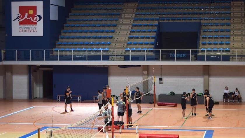Todo preparado para volver a disfrutar del voleibol.