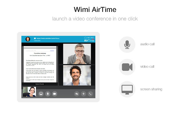 Wimi - AirTime Screen Sharing