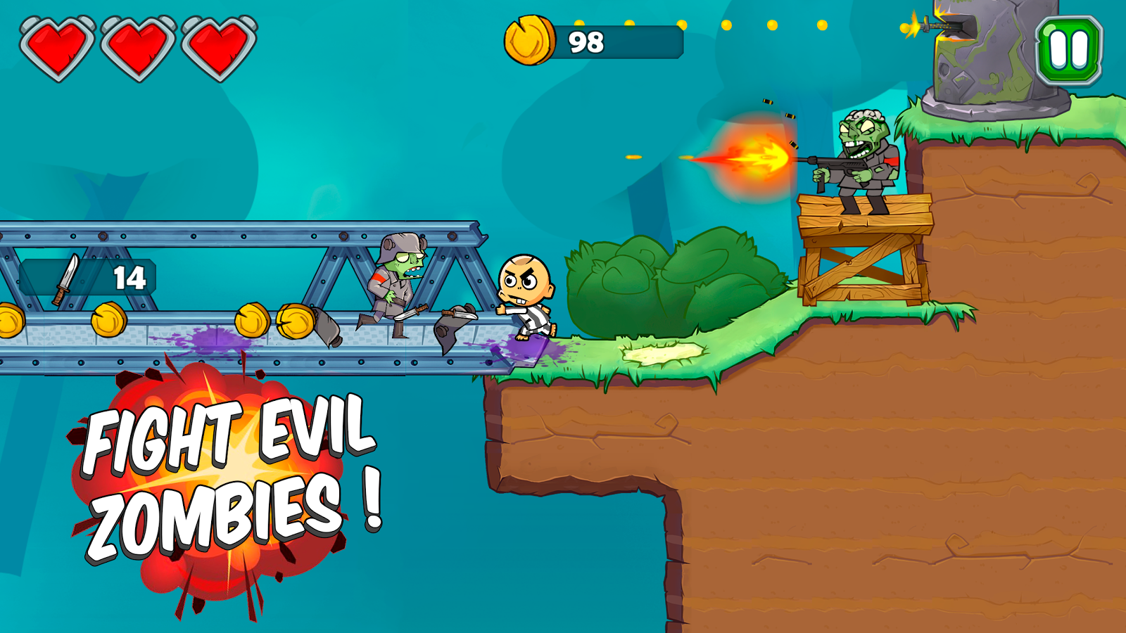 Zac vs Zombies - Full Version- screenshot