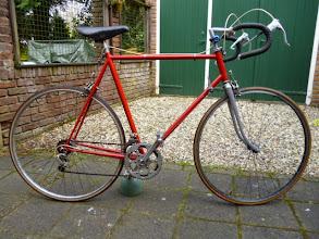 Photo: Door vorige eigenaar rood geschilderd. Was oorspronkelijk wit.
