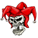 Skull Joker Widget/Stickers icon